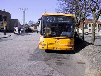 Partner Bus vogn 8429 på Roskilde Bussterminal Fotograf Ronni Svensson © Roskilde